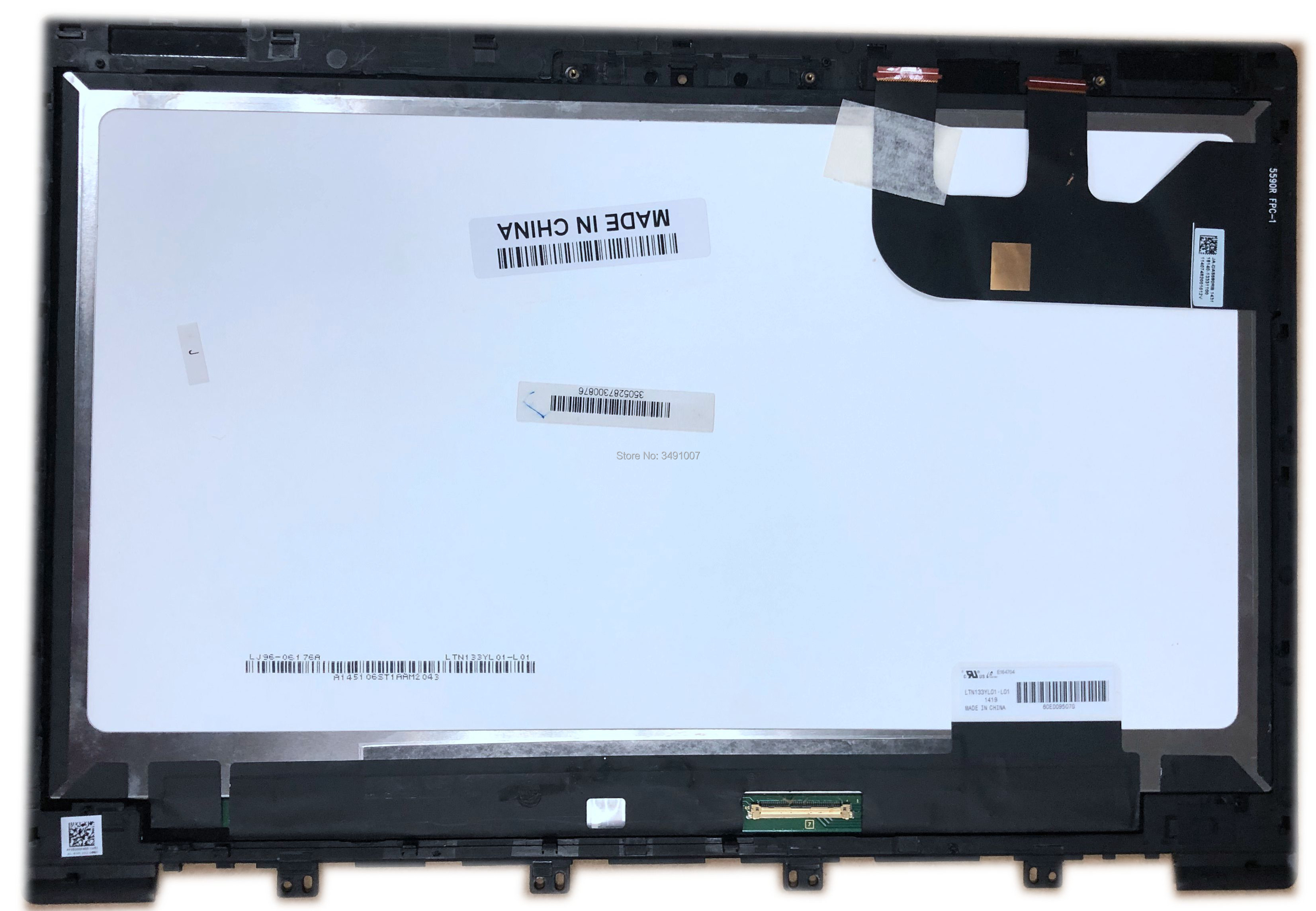 For ASUS Zenbook UX303 UX303LB  LTN133YL01 -L01 LCD Display Panel Touch Screen Assembly + Frame  133For ASUS Zenbook UX303 UX303LB  LTN133YL01 -L01 LCD Display Panel Touch Screen Assembly + Frame  133