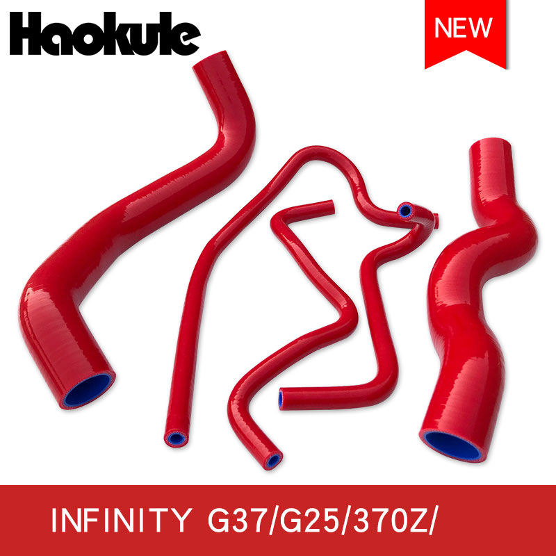High Performance Radiator Silicone Hose Kits for G37/G27/370Z/Q60/Q40 SEDANS Radiator Silicone Hose Kits-in Hoses & Clamps from Automobiles & Motorcycles