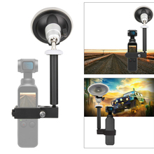 HOBBYINRC Multi-function Car Bracket with 1/4 Inches 3/8 Interface for DJI OSMO Pocket 3-axis Gimbal  Camera For Part