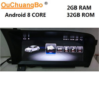 Ouchuangbo Android 8,1 media gps радио для Mercedes Benz S 250 300 350 400 500 600 W221 2006 2013 с 8 core 2 ГБ + 32 ГБ