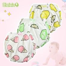 12 видов штанов для маленьких девочек Хлопковое детское нижнее белье трусики для маленьких девочек нижнее белье для новорожденных мальчиков От 0 до 3 лет