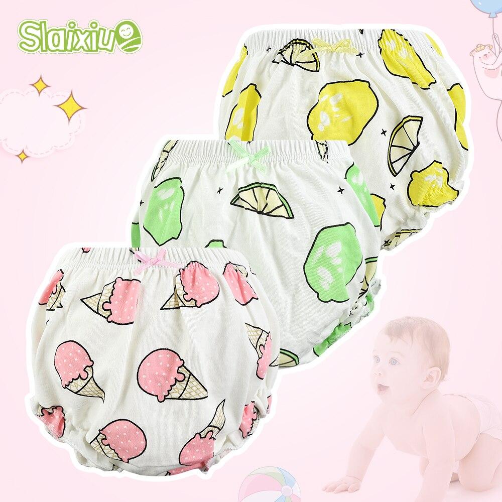 12-Kinds Girls Baby Disper Pants Cotton Children Panty Baby Girl Panties Underpants Newborn For Boys Toddler Male Underwear 0-3T