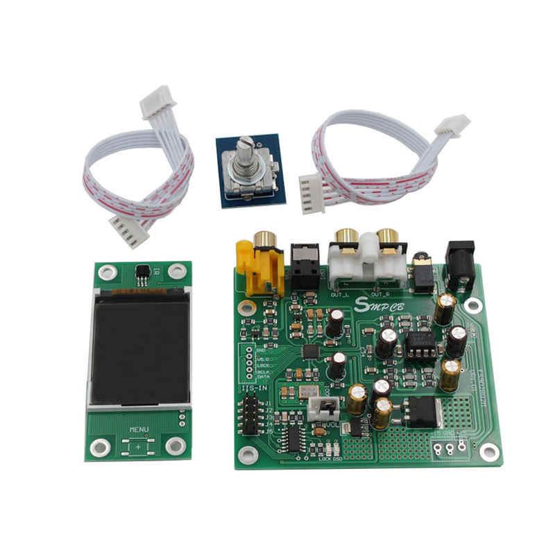 Es9038 Q2M Dac Dsd декодер совместим с Iis Dsd 384 кГц коаксиальное оптоволокно Dop для Hifi усилителя аудио с Oled
