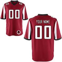 Custom Football Jersey Personalized Your Names Number High School College Logo Atlanta Embroidered Team Jersey For Men Wome Kids