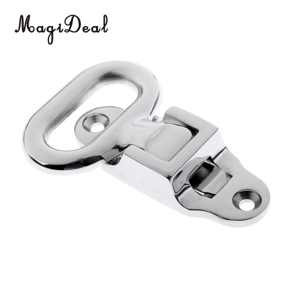 MagiDeal 316 Stainless Steel Small Folding Mast Step for Marine Canoe Kayak Fishing Inflatable Boat Yacht Caravan Accessories(China)
