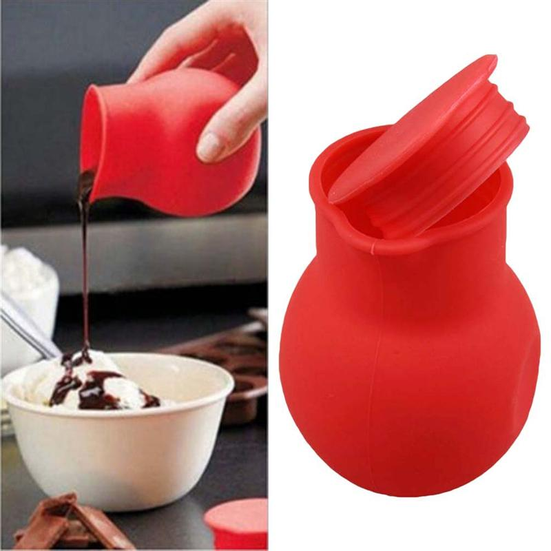 Us 152 42 Offsilicone Chocolate Melting Pot Melt Butter Heat Milk Sauce Microwave Baking Pot In Other Kitchen Specialty Tools From Home Garden