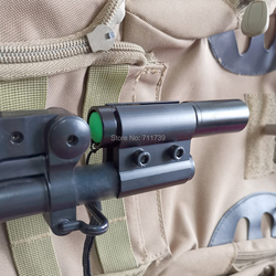 AloneFire QQ06 12-23 مللي متر العالمي قابل للتعديل الادسنس بندقية طلقة بندقية أنبوب برميل قوس محول أضواء الليزر نطاق البصر يتصاعد