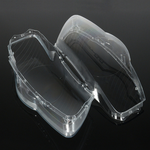 Image 2 - Pair Car Headlight Headlamp Waterproof Bright Clear Cover Lens For Volkswagen VW Passat B6 bi Xenon headlights R36