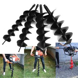 Dual Blade Earth Auger Bit Drill Planting Petrol Post Hole Digger Electric Drill Garden Power Tools Accessories 12/15/20/25cm