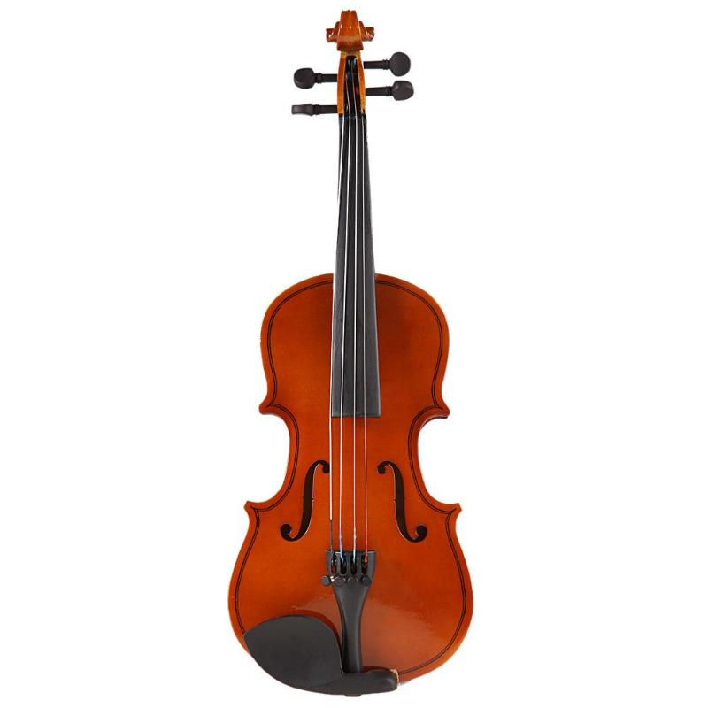 Handmade 1/8 Size Acoustic Violin Musical Fiddle for with Case Bow Rosin Musical Instrument