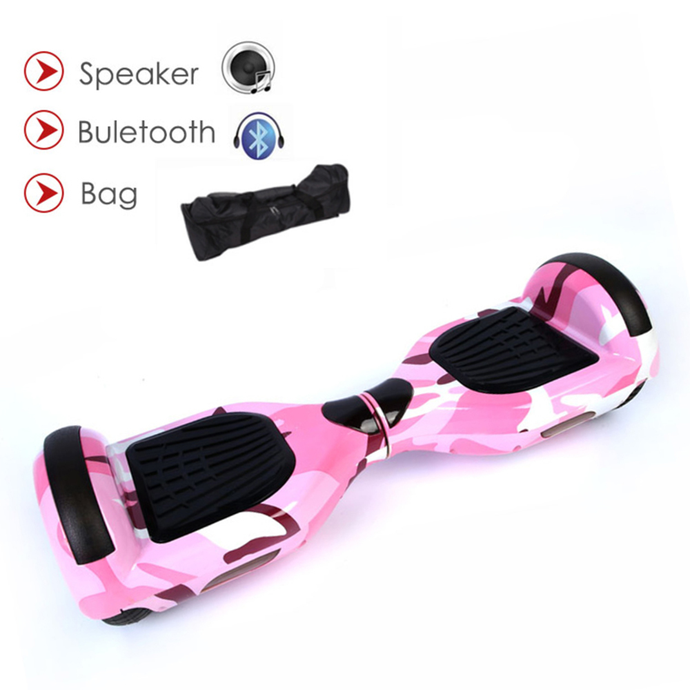 6.5 pouces Kick Hoverboard auto équilibrage Scooters 4400amh batterie monocycle Skywalker équilibrage Gyroscope Giroskuters intelligent par-dessus bord