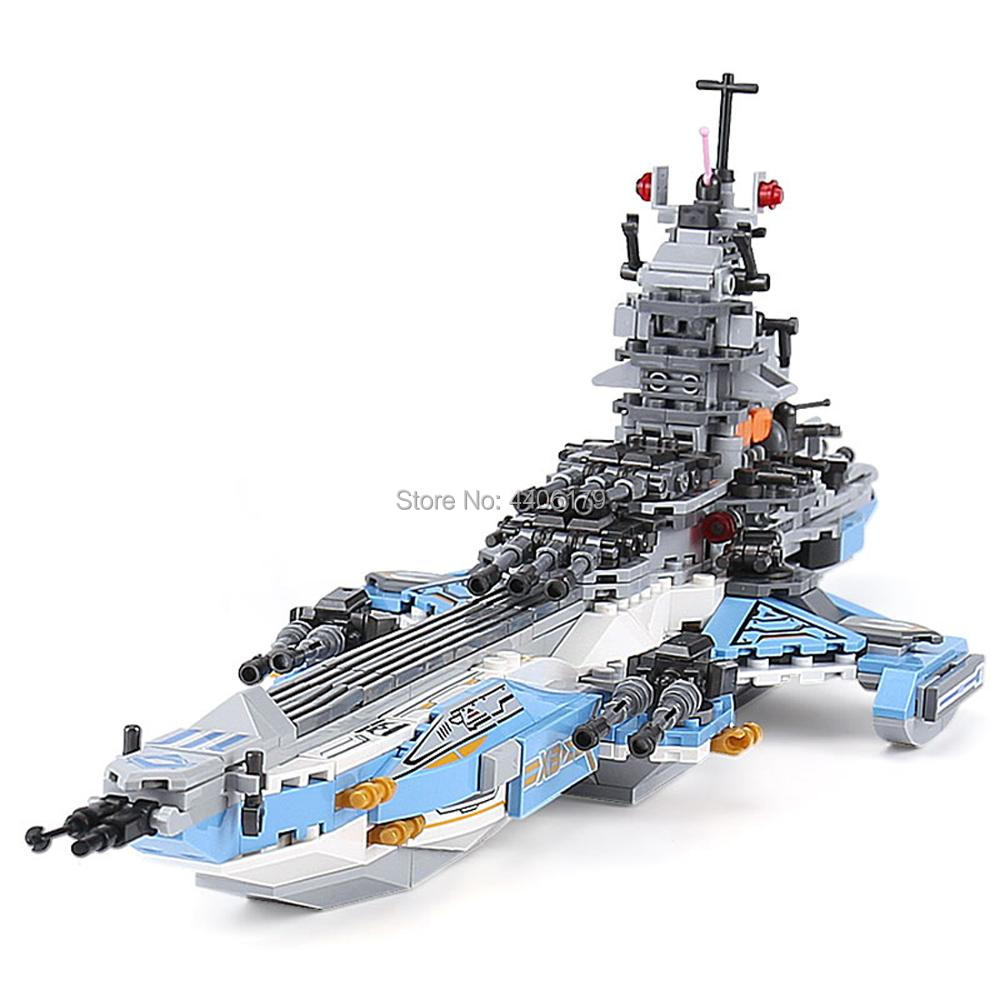 hot LegoINGlys military technic Space war 8in1 Super cosmological warship MOC Building Blocks model brick toys for children gift in Blocks from Toys Hobbies