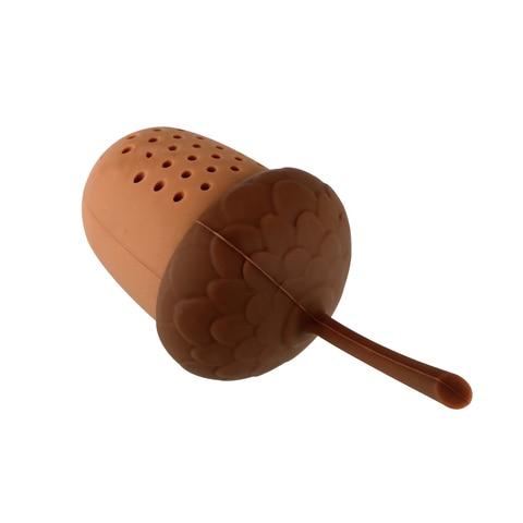 Kitchen Accessories Silicone Tea Infuser Tea Bag Strainer Herbal Filter Gadgets Acorn Shape Lahore