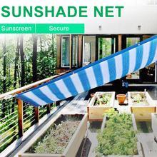 Наружная Солнцезащитная сетка прямоугольный холст УФ Блок сверхмощный солнцезащитный тент водонепроницаемый солнцезащитный ветронепроницаемый зонт тент