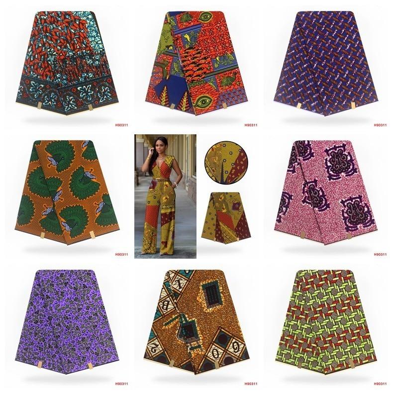 Image 5 - Verdadera cera nigeriana verdadera telas de encaje ASO EBI  africano algodón estampado verdadera cera de Ankara Pagne Africana cera  verdaderaTela