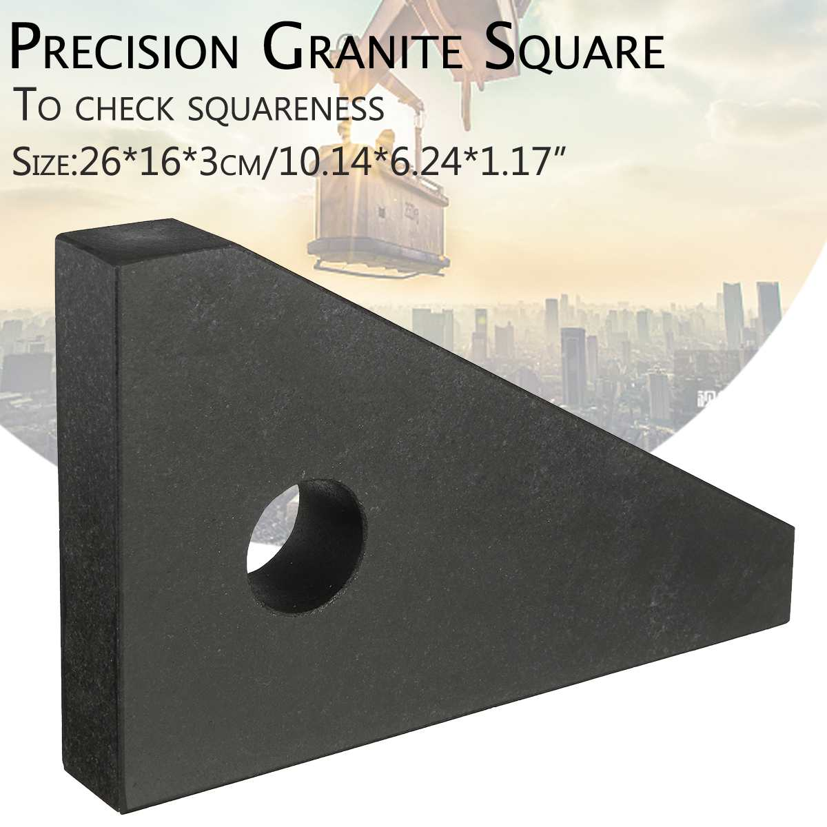 Angle Ruler Metric Triangular Measuring Ruler marble Square ruler Woodwork Speed Square Triangle Angle Precision Granite