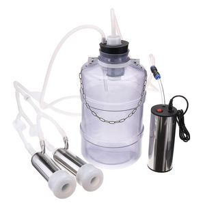 Image 5 - 24W Electric Milking Machine Cow Goat Sheep Milker Dual Vacuum Pump Bucket Food Safety Level Plastic Milking Machines