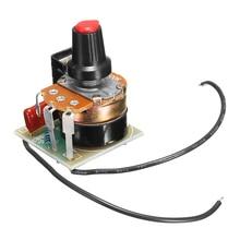 CLAITE 220 В 500 Вт регулятор затемнения регулятор температуры регулятор скорости бесступенчатый регулятор переменной скорости Диммер