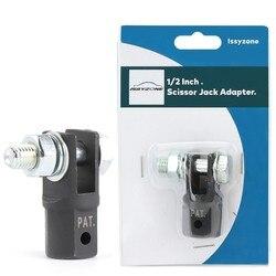 Adaptador de conector de tijera para uso con llave de impacto de 1/2 pulgadas o llave de tuercas de 13/16 pulgadas