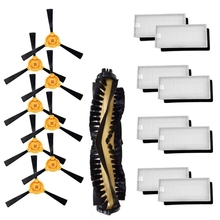 Accessories Kit For Ecovacs Deebot N79S N79 Robotic Vacuum Cleaner Filters, Side Brushes,Main Brush puppyoo robotic vacuum cleaner intelligent multifunctional collector self charge and high suction power side brushes wp615