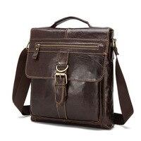Luxury Design Man;s Bag Cow Leather Men Falp Bag For Fashion Handbags Shoulder Vintage Retro Men Messenger Bags Briefcase
