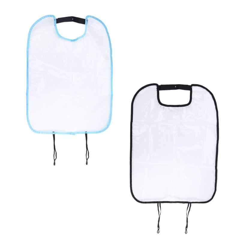 Прозрачная автомобильная подушка для сидения Задний защитный чехол для детей кик-мат грязевой чистый пластиковый прозрачный Анти-кик-коврик Прямая поставка