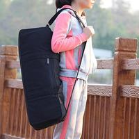 Light and Durable Thicken Yoga Mat Bag Yoga Mat Tote Canvas Sports Bag Carrier Fits Mats with Multi Functional Storage Pockets