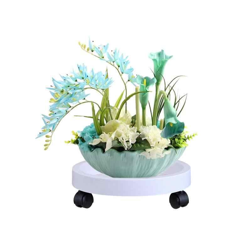 Мобильный поднос для цветочных горшков, поднос для домашних цветочных горшков, поднос для воды, Садовые принадлежности для дома