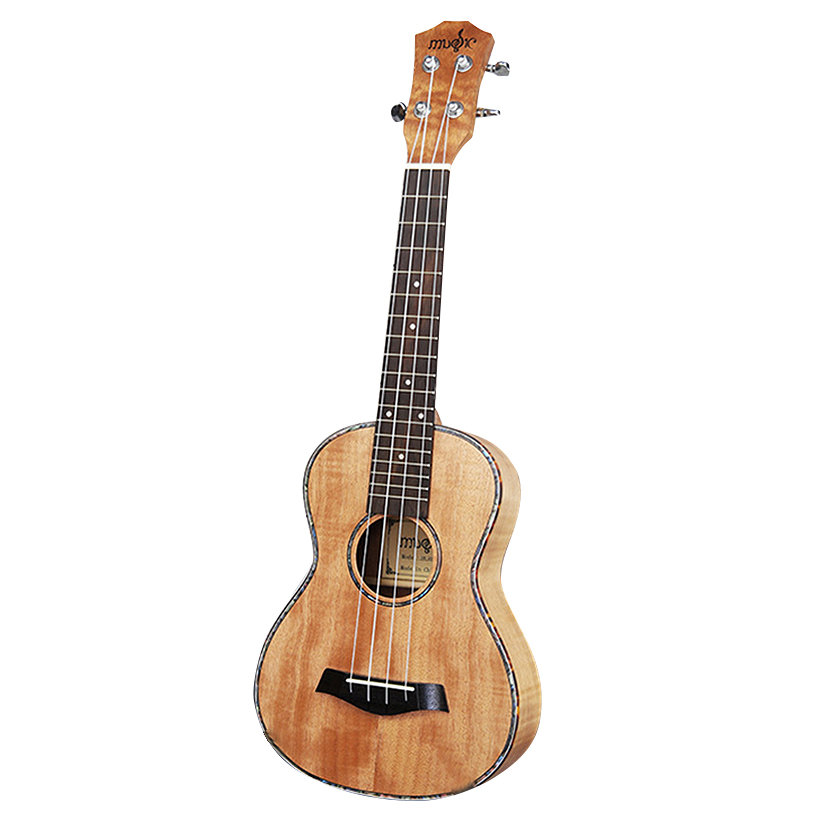 23 Inch Ukulele Tiger Stripes Okoume Hawaiian Guitar Rosewood Fretboard 4 Strings Concert Ukelele