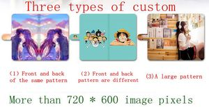 Image 4 - DIY Phone bag Personalized custom photo Picture PU leather case flip cover for Lenovo Z5S