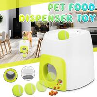 new Pet Dog Toy Automatic Interactive Ball Launcher Tennis Ball Throwing Machine Launching Fetching Balls Dog Training Tool