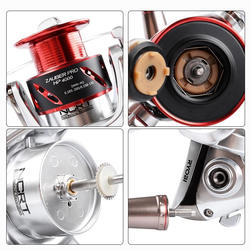 RYOBI ZAUBER PRO HP Angelrollen Spinnrad 8 + 1BB Getriebe Verhältnis 5,1: 1/5. 0:1 salzwasser selbst verriegelung griff reel angeln - 5