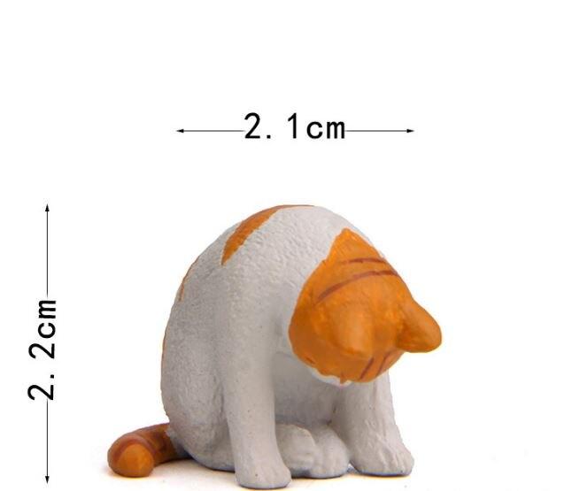 1 Pc Cute Sleeping Zoo Animal Action Figures Cartoon Cat Dog Panda Monkey Koala Otter Model Figure Toys Doll-2