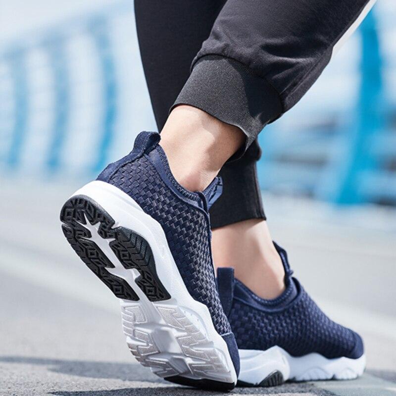 Li-ning hommes MARS chaussures de marche classiques Textile respirant baskets léger doux Fitness confort doublure chaussures de Sport AGLN017 YXB136 - 5