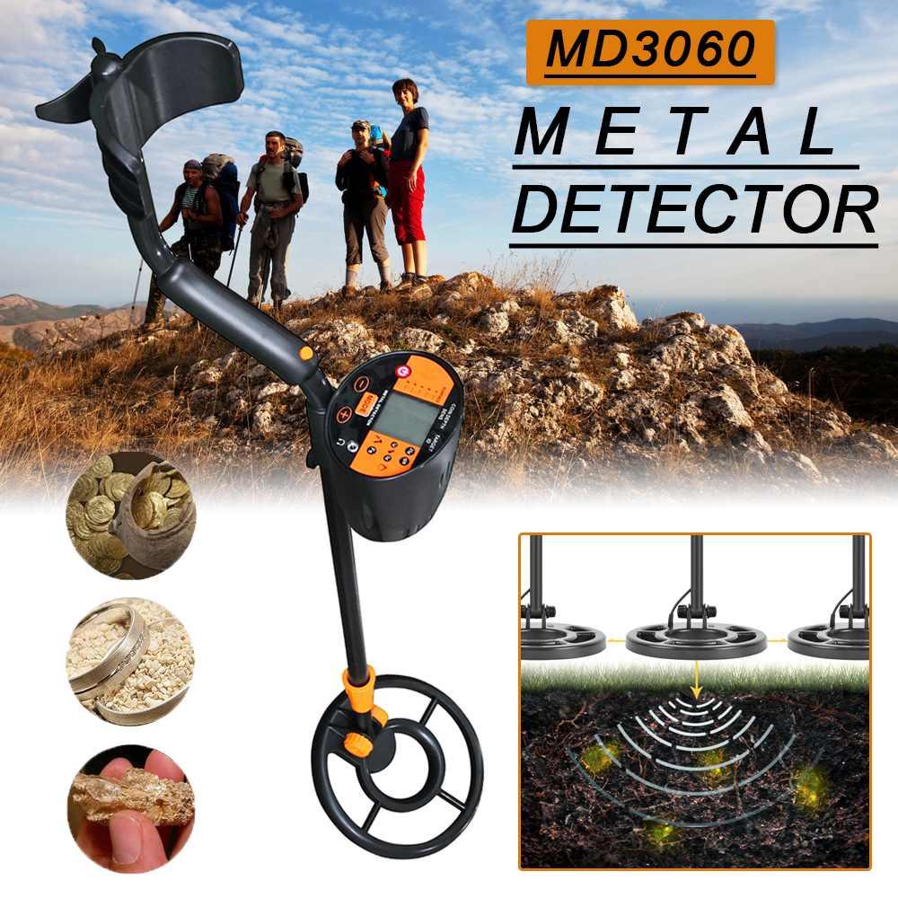 MD-3060 détecteur de métaux or métal pointage or argent chasseurs de trésors chercheur pour pièces de monnaie/reliques/bijoux sous le sol