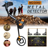MD 3060 Metal Detector Gold Metal Pinpointing Gold Silver Treasure Hunters Seeker For Coins/Relics/Jewelry Under the Ground