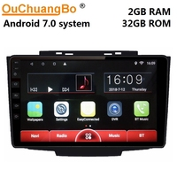 Ouchuangbo android 7.0 multimedia player gps radio recorder for great wall haval HOVER H3 H5 2013 2017 support carplay 2GB+32GB