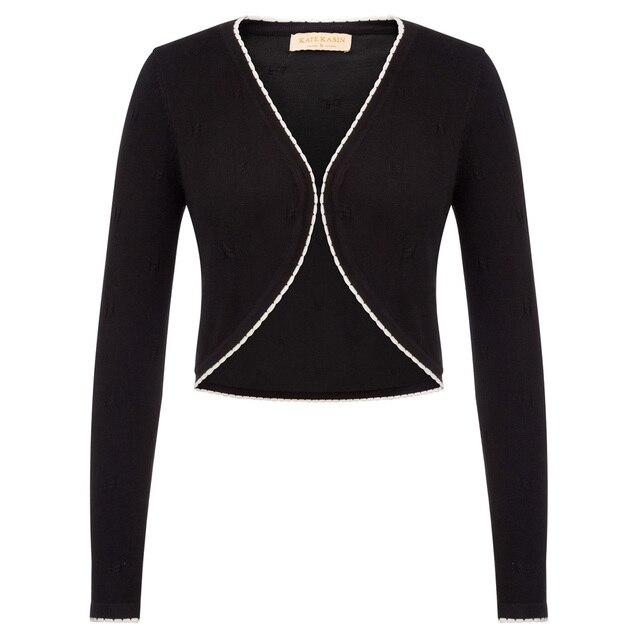 8914e3c5bed KK plus size fall Women cardigan coat Long Sleeve Open Front Contrast Color  Bolero Shrug classy