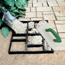 Garden Pavement Mold Cement Plastering Tile Hand Scraper Finishing Trowel Knife Bricklayer Scraper Mud Board Scraping Tile(China)