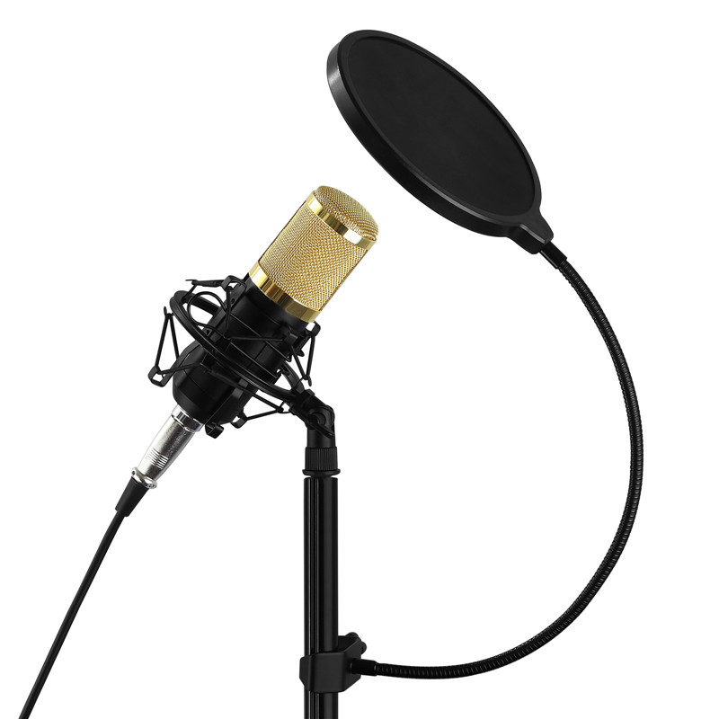 neoteck double layer studio microphone mic wind screen pop filter mask shield double layer. Black Bedroom Furniture Sets. Home Design Ideas
