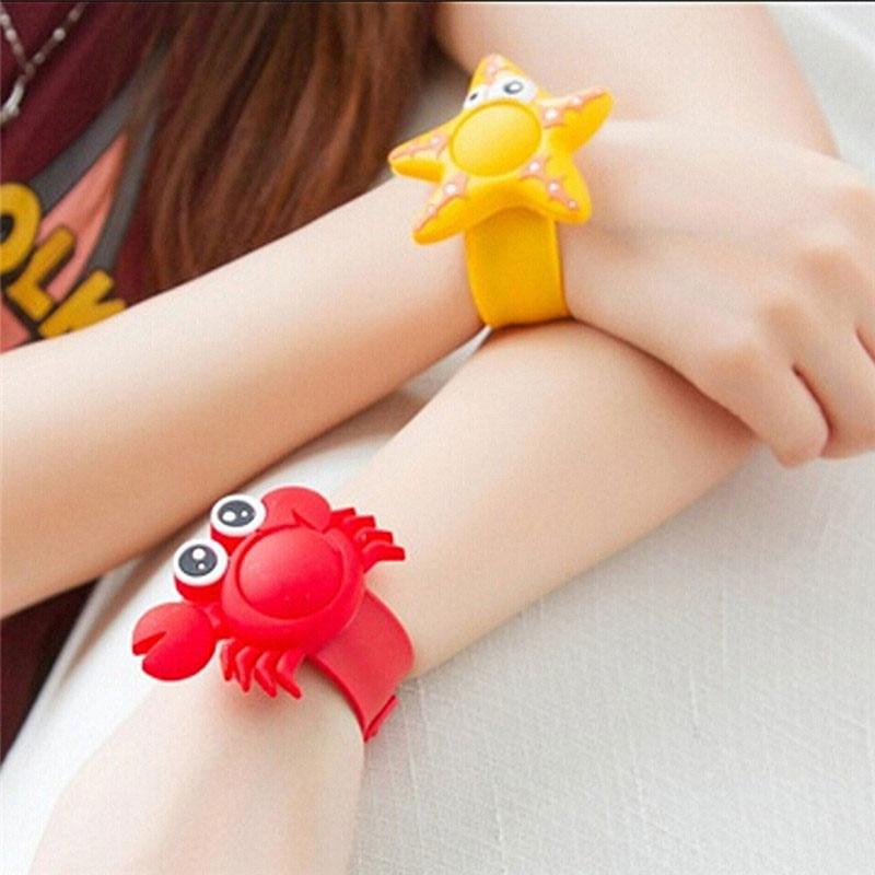 Mosquito Repellent Bracelets Mosquito Killer Outdoor Repellent Bracelet Baby Kids Anti Mosquito Wristband Reusable Cute Shape