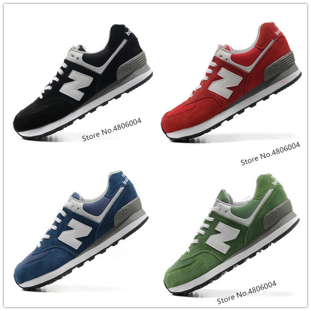 US $47.39 31% OFF|Hot New Balance 574 Men Shoes Top Running Shoes For women outdoor shoes Classic Olympic Five Rings Series ML574UTUAUC in Running