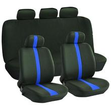9Pcs/Set Dirt-resistant Wear-resistant Car Seat Cover Case Breathable Fashion Full Covers for Vehicle Auto Accessories