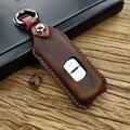 Чехол для автомобильного ключа  из натуральной кожи  2/3 кнопки для Mazda 3  6  6  6  7  6  6  6  6  6  6  7  6  x8  Axela  ATENZA  защитный чехол для автомобильного ключ...