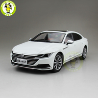 1/18 FAW VW CC Diecast Car Model Toys Boy Girl Birthday Gift Collection Hobby White
