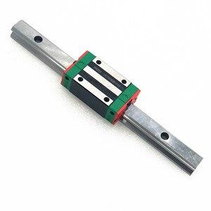 Image 4 - 500mm 2600mm HGH סדרת כבד עומס כדור סוג מעקה מדריך ליניארי 30mm HGR30 עם בלוק HGH30CA HGW30 CC עבור מכונת חיתוך