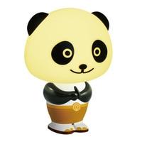 Panda Po Intelligent Lamp LED Lights Voice Kindergarten Graduation Gift Lamp Children li pin deng Bedside Lamp