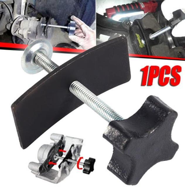Mayitr 1pc Steel Car Disc Brake Pad Spreader Professional Caliper Piston Compressor Car Repair Tool