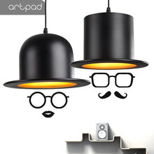 Artpad современный подвесной светильник в форме шапки скандинавском
