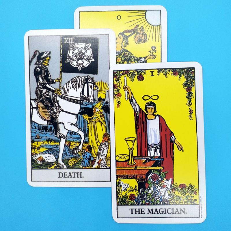 2019 Full English Radiant Rider Wait Tarot Cards Factory Made High Quality Smith Tarot Deck Board Game Cards2019 Full English Radiant Rider Wait Tarot Cards Factory Made High Quality Smith Tarot Deck Board Game Cards